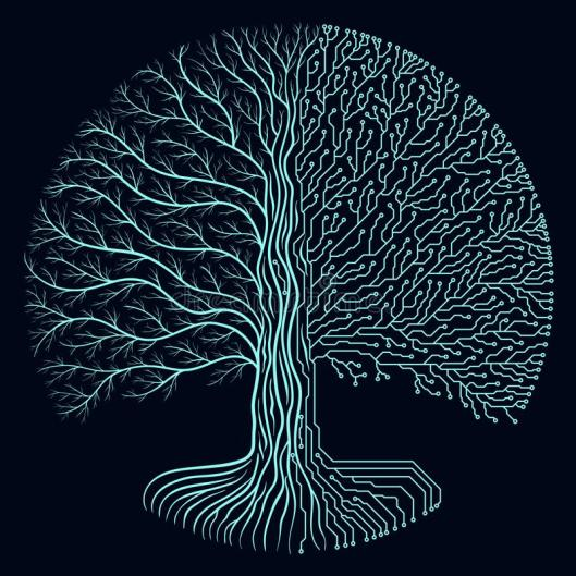 hi-tech-circuit-style-round-yggdrasil-tree-cyberpunk-futuristic-design-progress-symbol-styled-frame-elements-borders-blue-deep-115165758