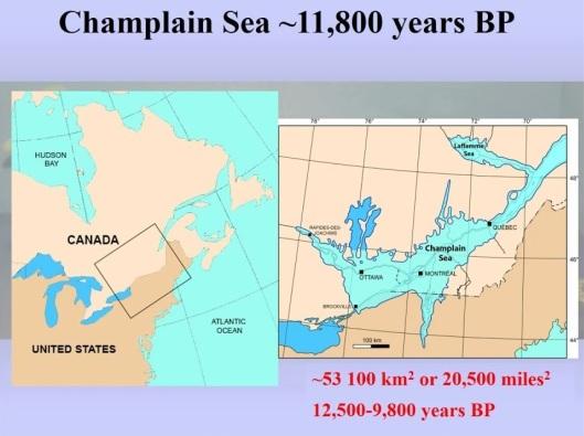 Champlain sea