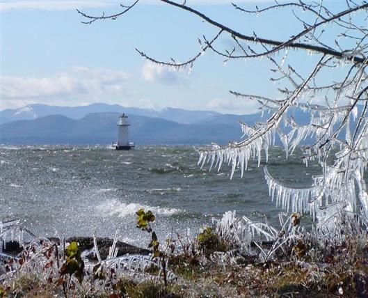 Winter Comes to Lake Champlain