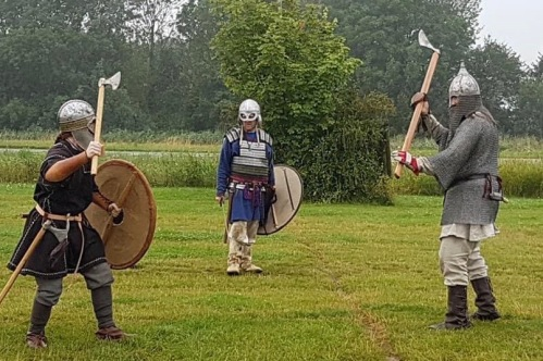 Odins Aett Vikings Peterborough at the Little Miracles Open Day 2019